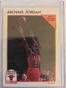 This is a Michael Jordan NBA Basketball Card collection