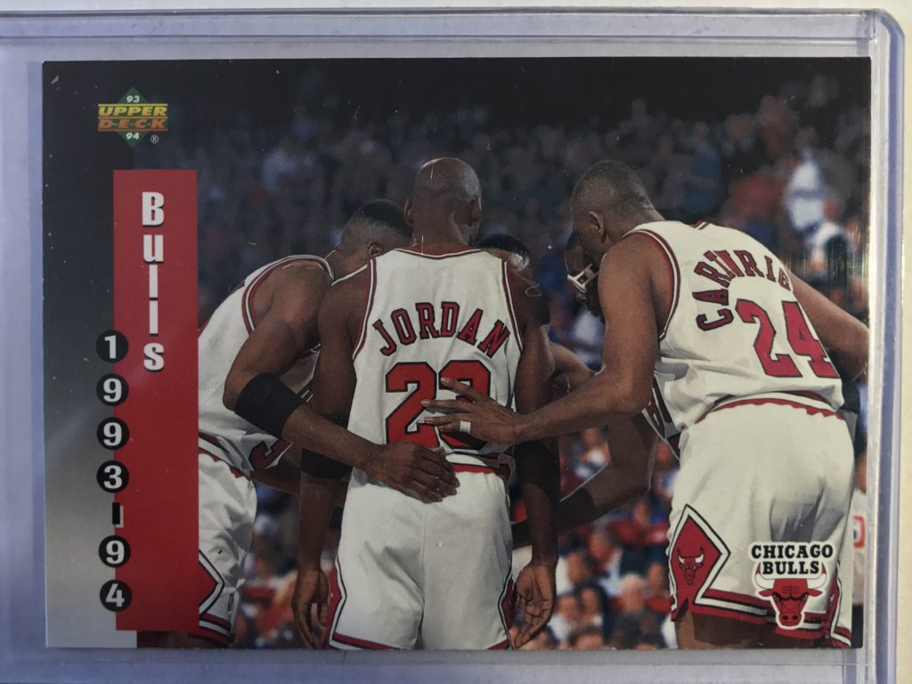 Michael Jordan NBA Basketball card